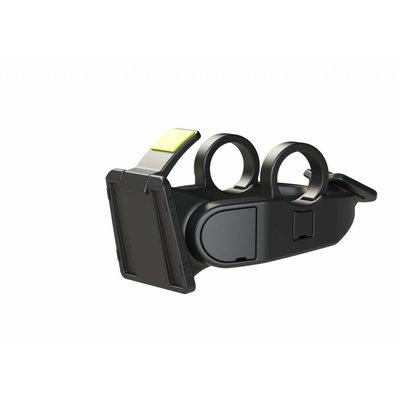 Basil BasEasy System - handlebar holder - donkergrijs