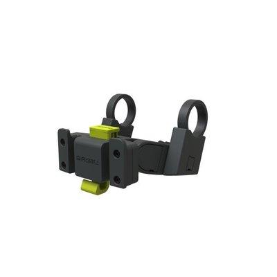 Basil Handlebar holder - fur klickfix platten - lenkradhalter - anthrazit