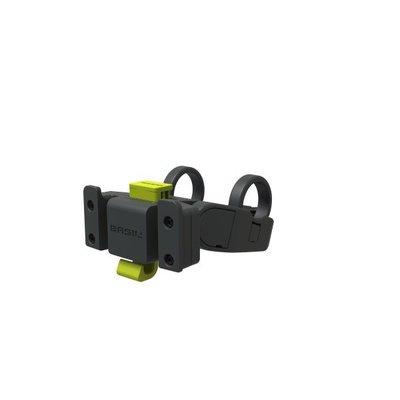 Basil Handlebar Holder – for klickfix plates – steering wheel holder – anthracite