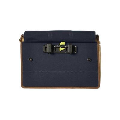 Basil Portland Messenger - bike shoulder bag - laptop bag - 20L - blue