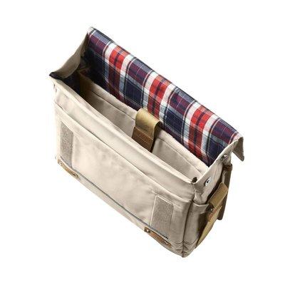 Basil Basil Portland Messenger - bike shoulder bag - laptop bag - 20L - cream