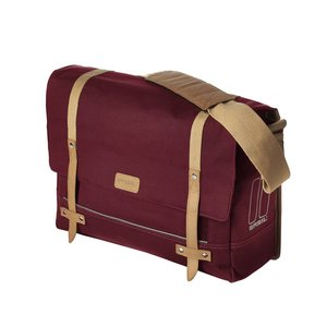 Portland Messenger Bag - Red