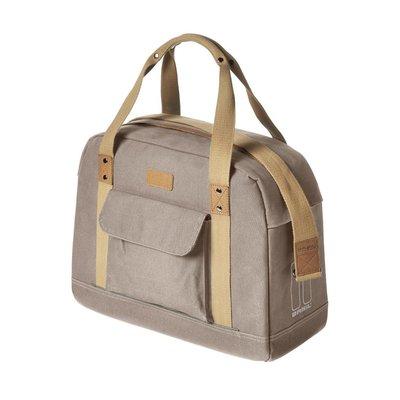 Basil Basil Portland Business Bag – laptop bike bag - bike shoulder bag - 19L - taupe