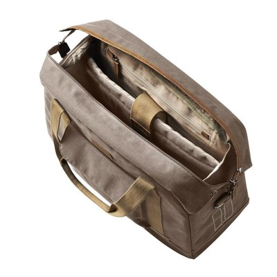 Basil Basil Portland Business Bag - laptopfahrradtasche - fahrradschultertasche - 19L - taupe