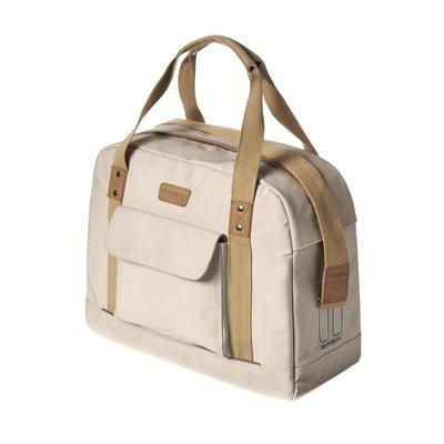 Basil Basil Portland Business Bag - laptopfahrradtasche - fahrradschultertasche - 19L - Creme