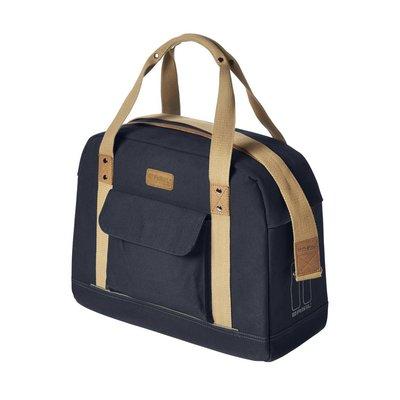 Basil Basil Portland Business Bag - laptop bike bag - bike shoulder bag - 19L - blue