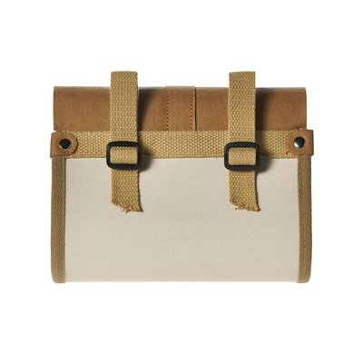 Basil Portland Saddlebag - saddle bag - 0,5L - cream