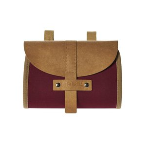 Basil Portland Saddlebag - saddle bag - 0,5L - red