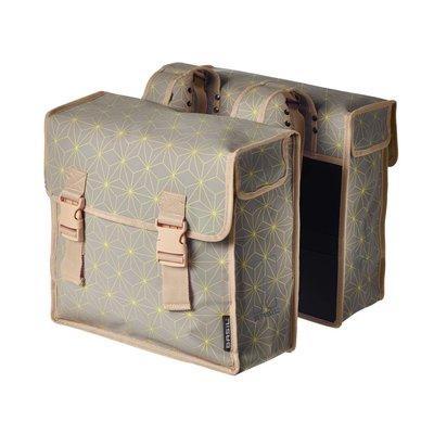 Basil Basil Star Double Bag - double bicycle bag - 35L - grey