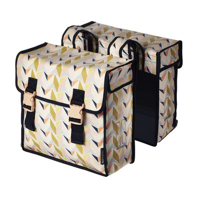 Basil Triangle Double Bag - double cycling bag - 35L - Multi - Coloured
