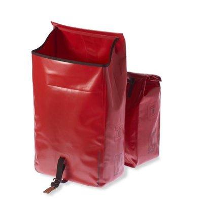 Basil Basil Urban Dry Double Bag - doppelte fahrradtasche - 50L - rot