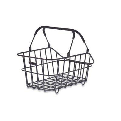 Basil Basil Cento Alu Multi System - bicycle basket - rear - removable - black