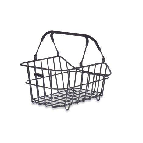 Basil Cento Alu Multi System Bicycle Basket Rear Removable