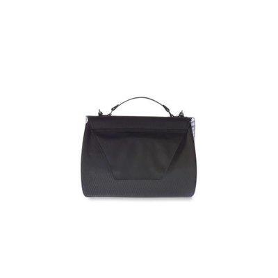 Basil Basil Noir City bag - stuurtas - fietsschoudertas - 6L - zwart