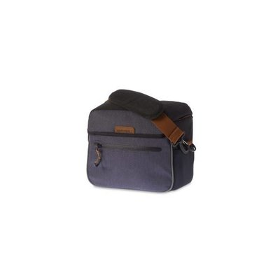 Basil Miles Handlebar Bag - handlebar - 6L - dark gray / anthracite
