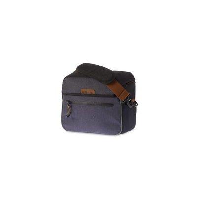 Basil Miles Handlebar Bag - stuurtas - 6L - donkergrijs/antraciet