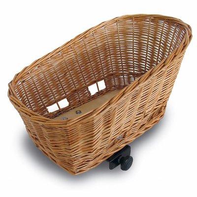 Basil Basil Pasja - animals bicycle basket - 40CM - brown