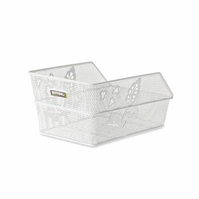 CENTO FLOWER S Basket - Hinten - White