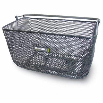 Basil Basket CATU - Hinten - schwarz