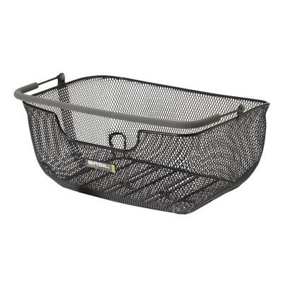 Basil CAPRI LUXE II FLEX Basket - Back - Black