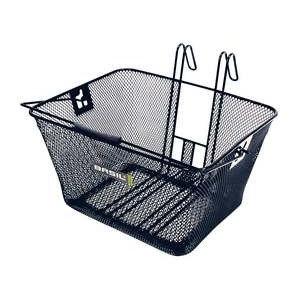 Basil Bern - bicycle basket - black