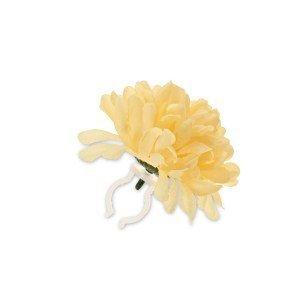 Basil Roses Flower Garland - Geel