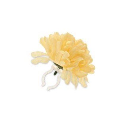 Basil Stuurbloem - geel