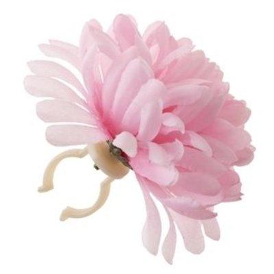 Basil Stuurbloem - roze