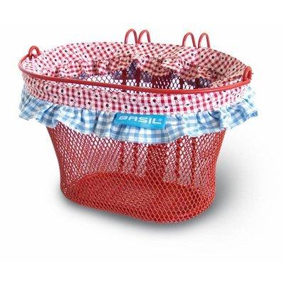 Jasmin - farm - basket - rood