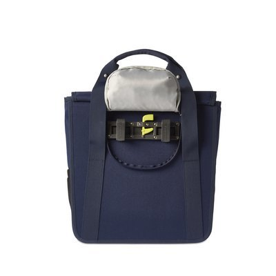 Basil Basil GO Single Bag - shopper - fahrradtasche 18L - blau