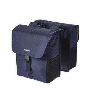 Basil GO Double Bag - doppelte - fahrradtasche - 32l - jeansblau