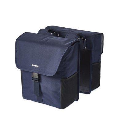 Basil Basil GO Double Bag - double Bike Bag - 32l - denim blue