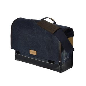Basil Urban Fold Messenger Bag - Blauw