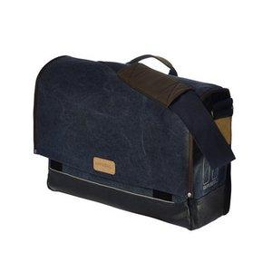Basil Urban Fold Messenger Bag - Blue