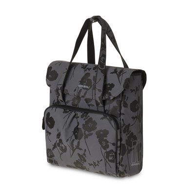 Basil Elegance Shopper - Grau