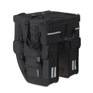 Basil Tour Travel – double bike bag – black