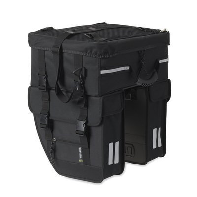 Basil Basil Tour Travel – double bike bag – black
