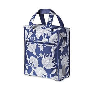Basil Blossom Shopper – fahrradshopper blau