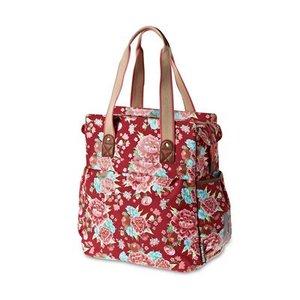 Basil Bloom Shopper - Red
