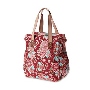 Basil Bloom Shopper - Rood
