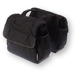 Basil Basil Katharina Black & Dots – double bike bag - black