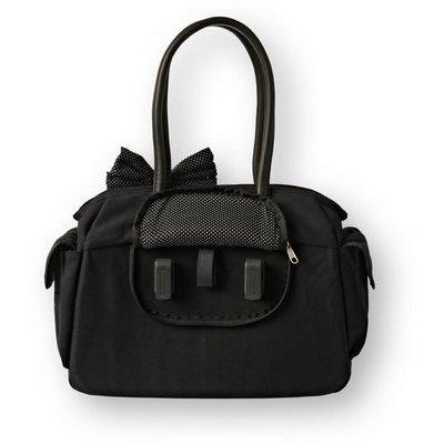 Basil Katharina Black & Dots - schoudertas - zwart