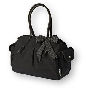 Basil Basil Katharina Black & Dots - schoudertas - zwart