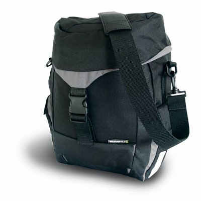 Basil Sports Single Bag- enkele fietstas - zwart
