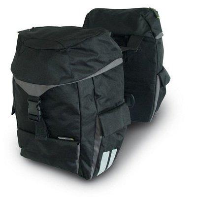 Basil Sports Design - double bag - zwart