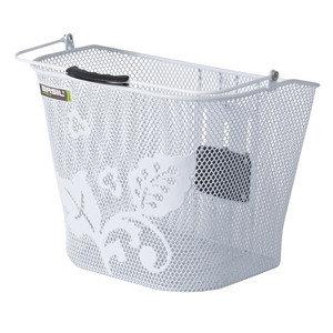 Basil Basimply Flower - bicycle basket - white