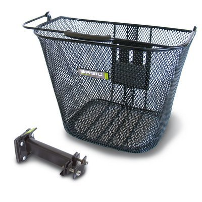 Basil Basil Basimply Baseasy - bicycle basket - black