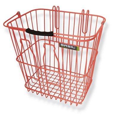 Basil Memories - bicycle basket - orange