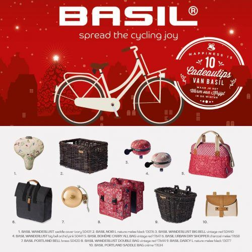 De leukste en origineelste top 10 cadeaus voor Kerst, van Basil voor jou!