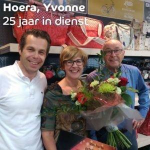 25 jarig jubileum Yvonne Jebson gevierd